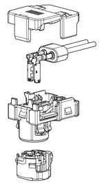 Schematic photo of SQB Connector