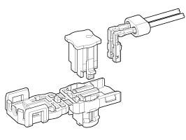 Schematic photo of SQH Connector