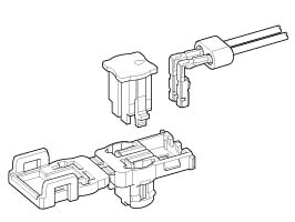 Schematic photo of SQM Connector