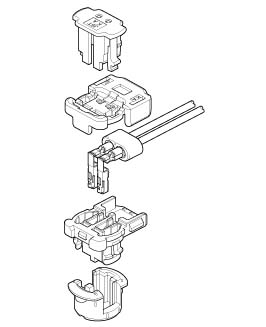 Schematic photo of SQSⅡ Connector