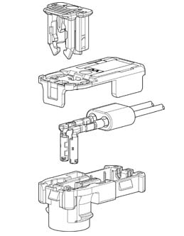 Schematic photo of SQXW Connector