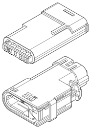 Schematic photo of SRV Connector