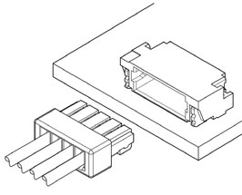 Schematic photo of SUH Connector
