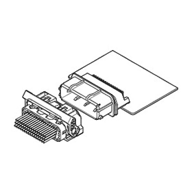 Schematic photo of TCUD Connector