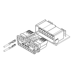 Schematic photo of TLDR Connector