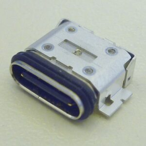 Close up image of UBC connector (Dustproof and waterproof type)