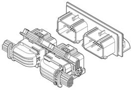Schematic photo of WIC Connector