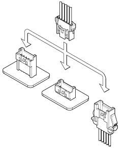 Schematic photo of XAF Connector