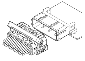 Schematic photo of ZRO Connector