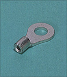 Close up image of Ring tongue terminal (R-type, Non-insulated Heavy duty)