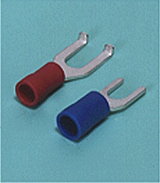 Close up image of Spade tongue terminal (A-type/B-type, Vinyl-insulated) (flared)