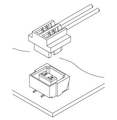 Schematic photo of ASR Connector