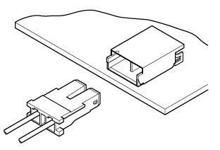 Schematic photo of BHS Connector (W to B)