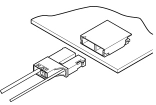 Schematic photo of BHT Connector (W to B)