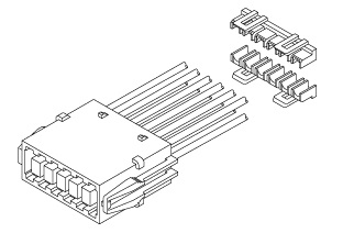 Schematic photo of BL Connector