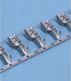 Close up image of Tab-on terminal 250 Tab-on piggyback type