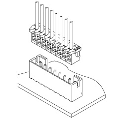 Schematic photo of CK Connector