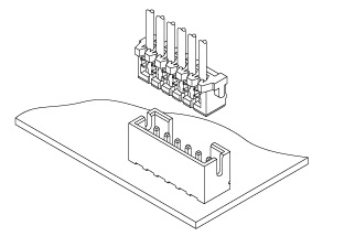 Schematic photo of CR Connector