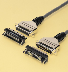 Close up image of Dsub Connector J series