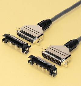Close up image of Dsub Connector JH series