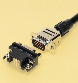 Close up image of Dsub Connector JK series
