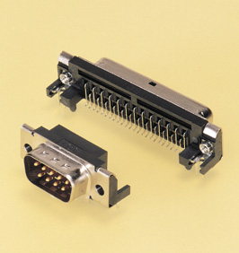 Close up image of Dsub Connector JS series