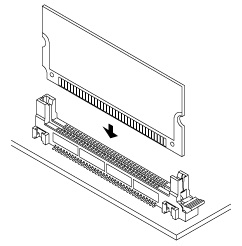 Schematic photo of DM-72P connector