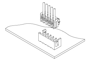 Schematic photo of DR Connector