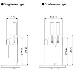 Schematic photo of BNI Connector