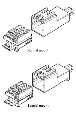 Schematic photo of HIC Connector