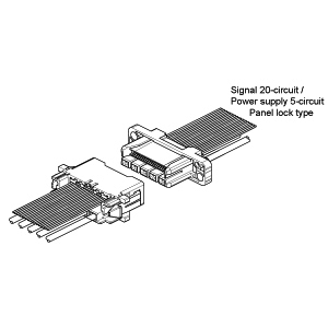 Schematic photo of RVE Connector