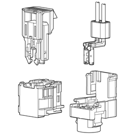 Schematic photo of SQN Connector