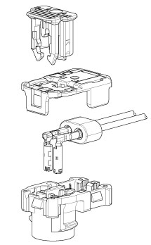 Schematic photo of SQZ Connector