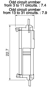 Schematic photo of TCS Connector