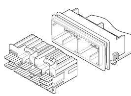 Schematic photo of TRZ Connector