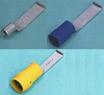 Close up image of Lipped Blade terminal (AH-type)