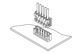 Schematic photo of EH Connector