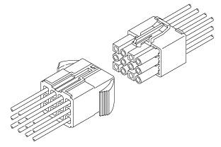 Schematic photo of EL Connector