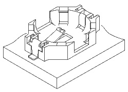 Schematic photo of PB connector