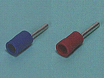 Close up image of Pin terminal (PC-type Vinyl-insulated (straight, flared))