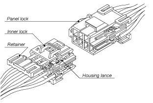 Schematic photo of YL Connector