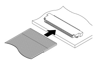 Schematic photo of FH Connector
