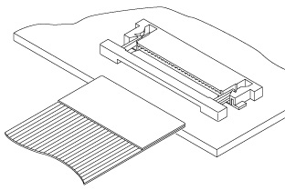 Schematic photo of FLH Connector
