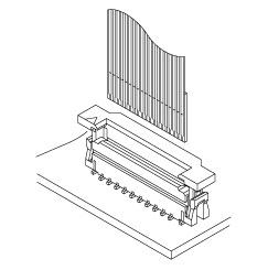 Schematic photo of FLZT Connector