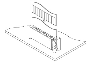 Schematic photo of FM Connector
