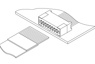 Schematic photo of FMS Connector