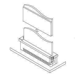 Schematic photo of FMZ connector