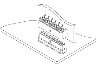 Schematic photo of JE Connector