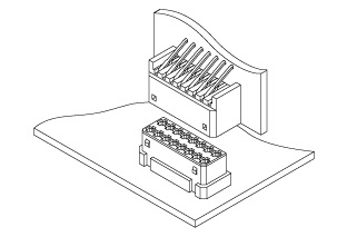 Schematic photo of JED Connector