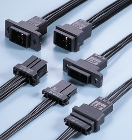 Close up image of JFA connector J300 series (W to W 3.81mm pitch)